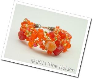 Orange Crochet by Tina Holden
