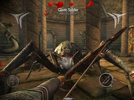 Screenshot of Ravensword: Shadowlands 3d RPG