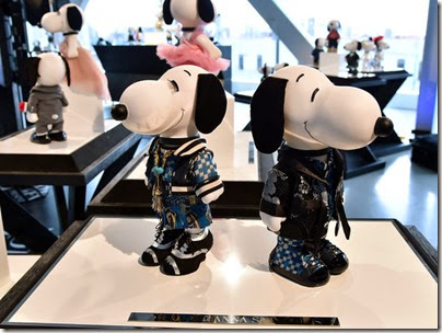 Peanuts X Metlife - Snoopy and Belle in Fashion Exhibition Presentation (Source - Slaven Vlasic - Getty Images North America) 31