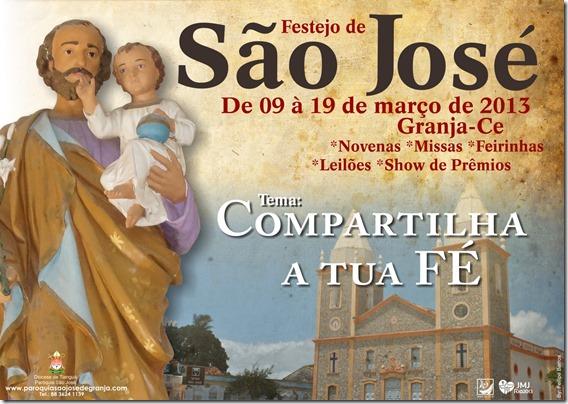 CARTAZ SÃO JOSÉ 2013 TamA3