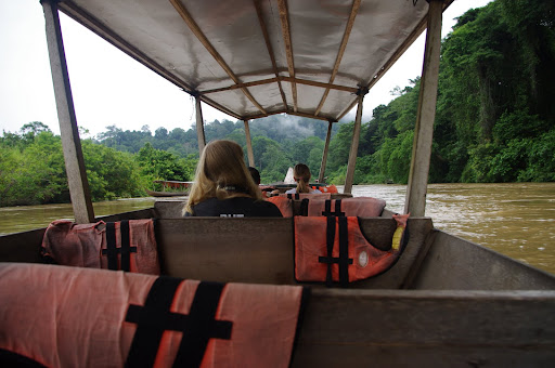 The river boat out of Taman Negara.