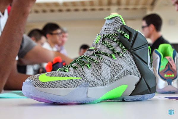 Detailed Look at Upcoming Nike LeBron 12 8220Dunk Force8221 aka Dunkman