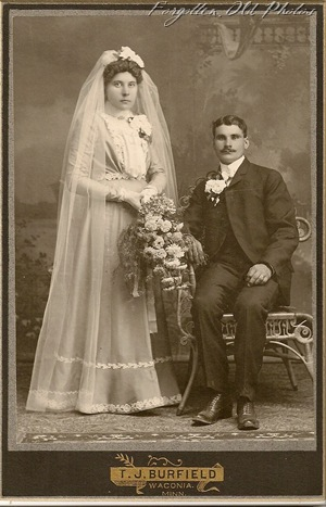 1898to 1899 wedding photo Dorset 3