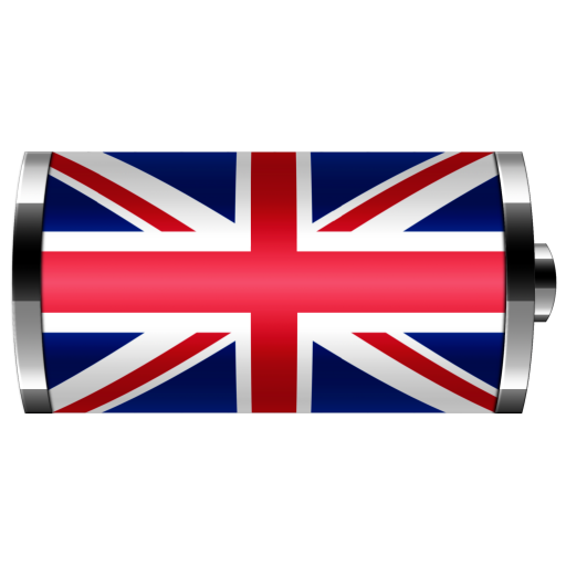 UK: Flag Battery Widget LOGO-APP點子