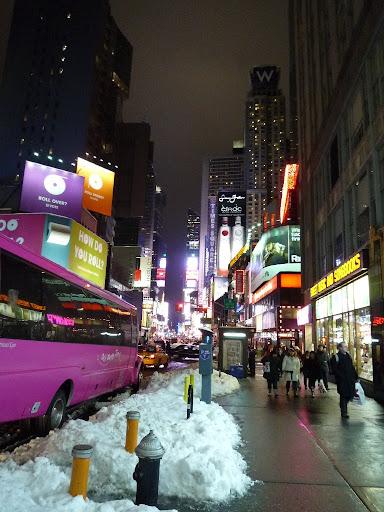 El autobus en rosa le da un