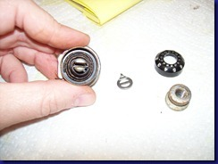 flange stop motion washer