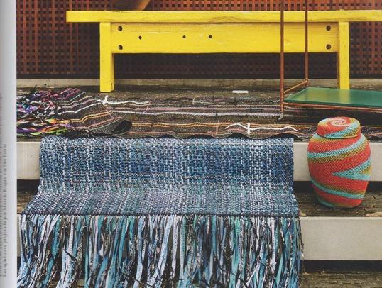 Tecelão e designer textil Alexandre Heberte