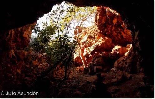 Minas de Ocre - Una de las cavidades