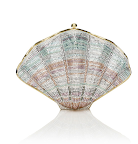 Wouldn't this Judith Leiber shell minaudiere be perfect for a seaside affair?