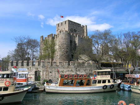 Obiective turistice Istanbul: Anadolu Hisari