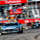 Safety car on the Montreal track
