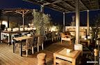 La terraza del hotel en España. Gentileza: Hotel Pulitzer.