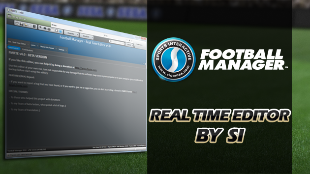 Real Time Editor by Sports Interactive