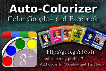 Color Style for Facebook and Google Plus Profile