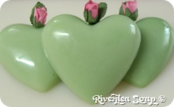 More valentine hearts green (6)