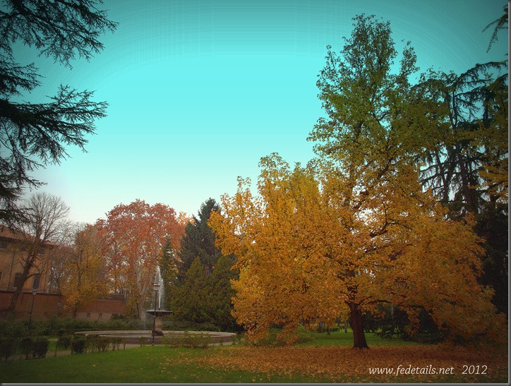 Parco Massari ( panoramica 2 ), Ferrara, Emilia Romagna, Italia - Parco Massari (  overview 2 ), Ferrara, Emilia Romagna, Italy - Property and Copyrights of www.fedetails.net