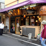 nice looking sushi shop in Ginza, Tokyo, Japan
