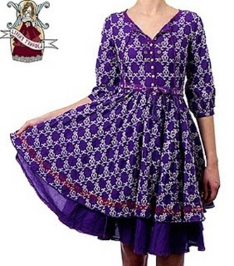 Million Dollar Dress lila
