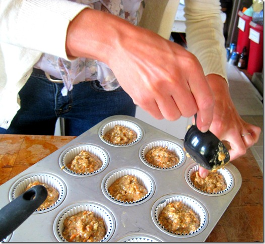 carrot muffins 7