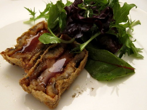 Unagi and Foie Gras with Mesclun