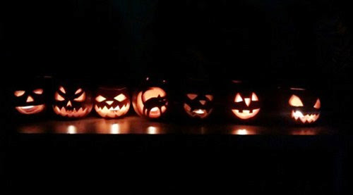 calabazas carvadas halloween