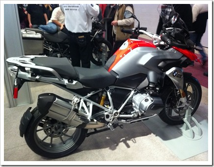 BMW 1200GS LC 2013 Salon Moto Montreal