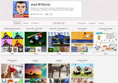 Verificar web en Pinterest