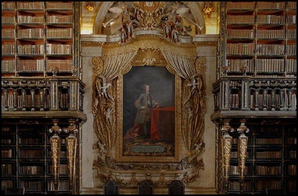 Biblioteca Geral Université de Coimbra, Coimbra, Portugal