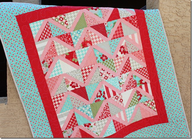 Vintage Modern Baby Quilt 3