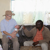 tea with Daniel Tuke, Maasai church planter