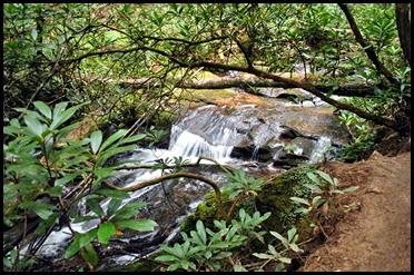 22i - Raven Cliffs Falls - Falls at 1.3 miles