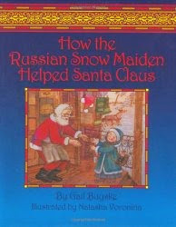How Russian Snow Maiden Helped Santa Claus