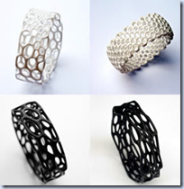 3D-printed jewelry