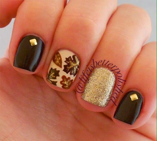 new Fall Inspired Nail Arts 2015 | Hairstyle FS
