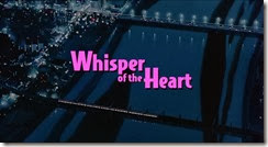 Whisper of the Heart Title