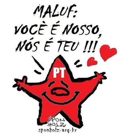 Lula Maluf PT - Priscila e Maxwell Palheta