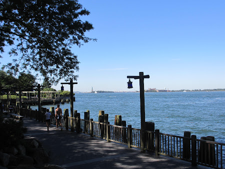 Things to do in New York: Battery Park Boardwalk