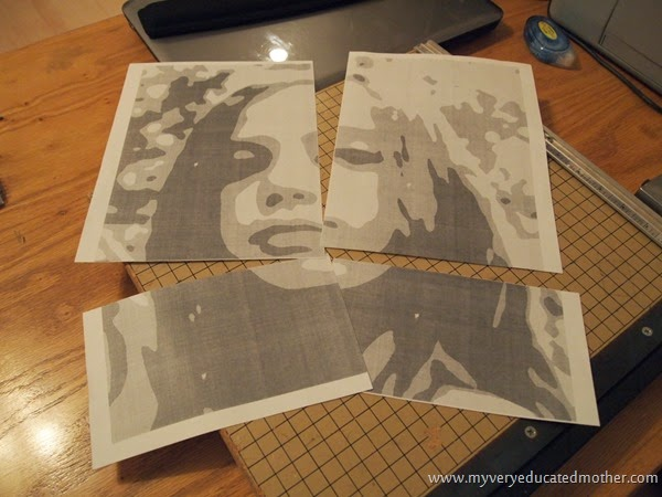 Create Your Own Posters #DIY #spraypaint #stencils