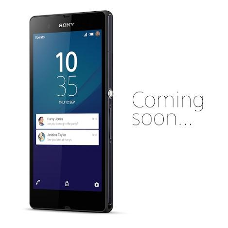 Sony Xperia Z Running Android 5.0 Lollipop