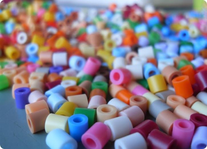 Væltede perler