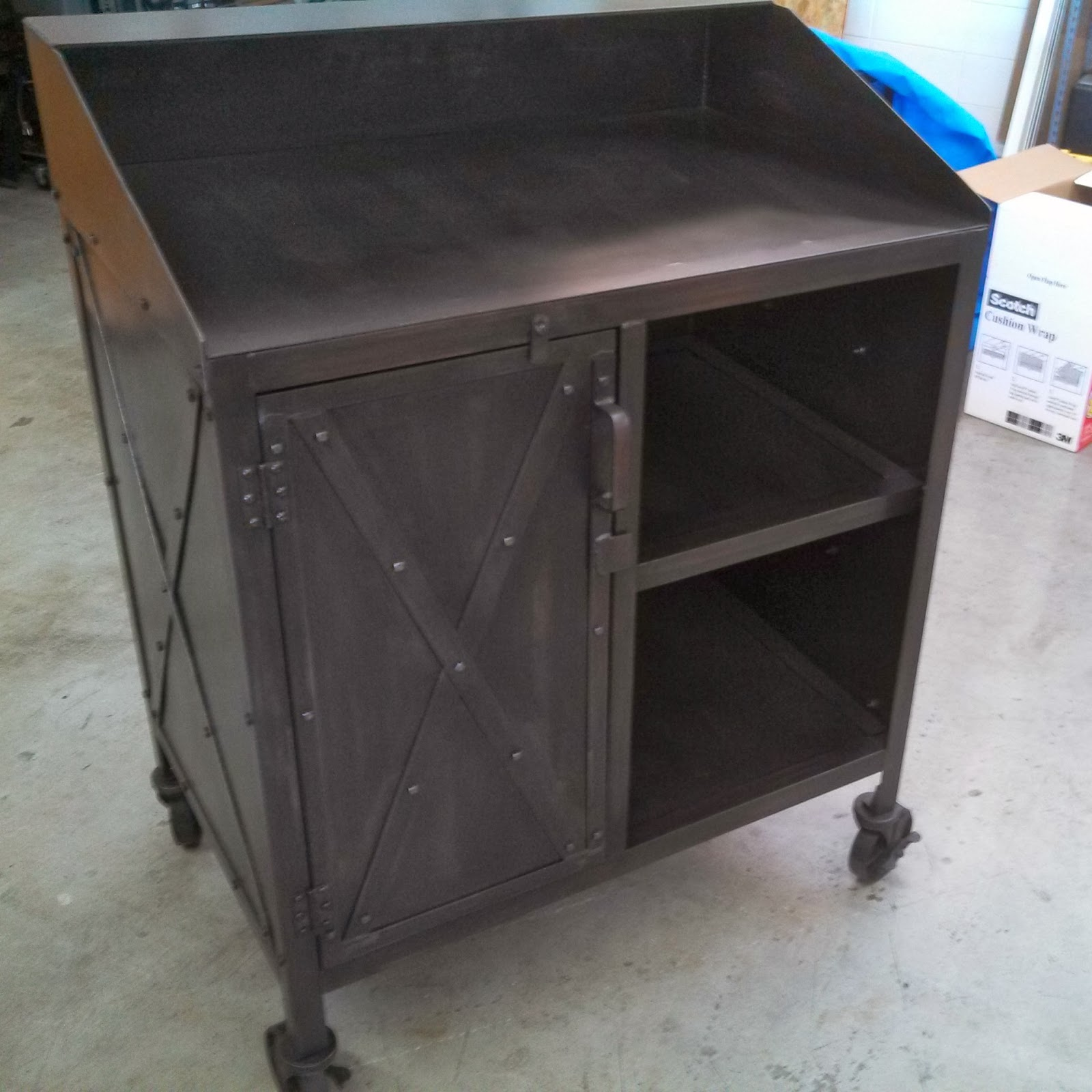 Real Industrial Edge Furniture llc: Hostess stand