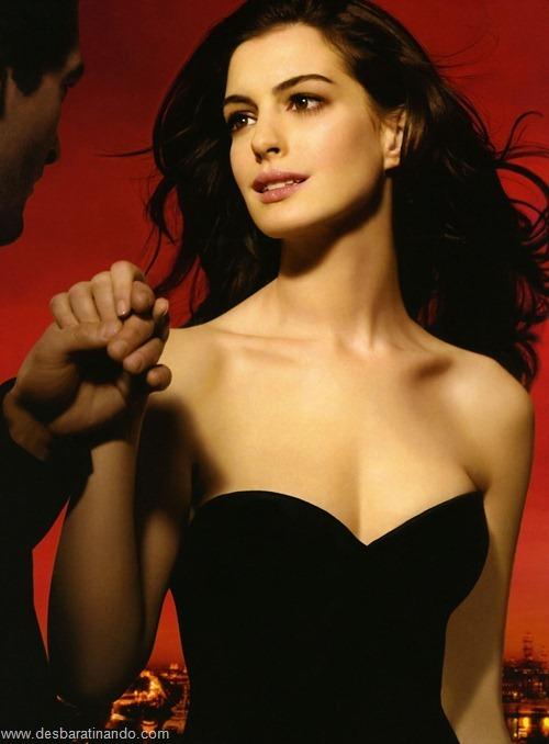 anne hathaway linda sensual sexy desbaratinando  (8)