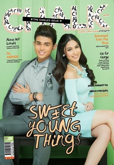 Iñigo Pascual, Julia Barretto for Chalk Feb. 2015