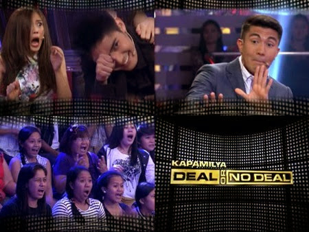 Kapamilya Deal Or No Deal - Alex Gonzaga and Robi Domingo