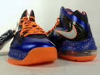 nike lebron 10 ps elite blue black 3 06 Release Reminder: Nike LeBron X P.S. Elite Superhero