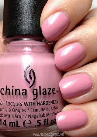 China Glaze Pink-e Promise