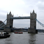 london tower bridge in London, London City of, United Kingdom