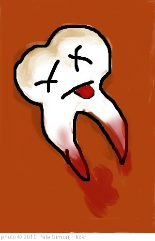 'RIP, Tooth' photo (c) 2010, Pete Simon - license: http://creativecommons.org/licenses/by/2.0/