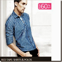 Fashionandyou: Red Tape Men's Shirts at 50% off + Free Shipping from Rs. 499