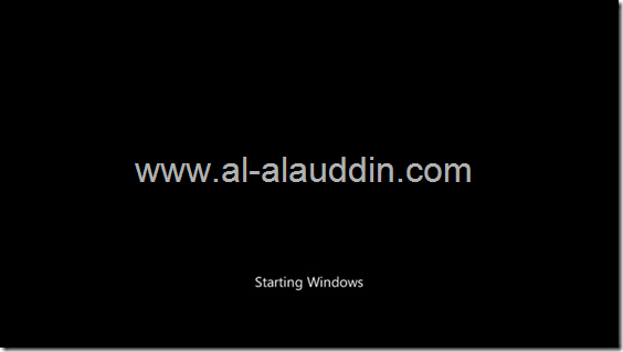 starting windows screen by Al-alauddin.com